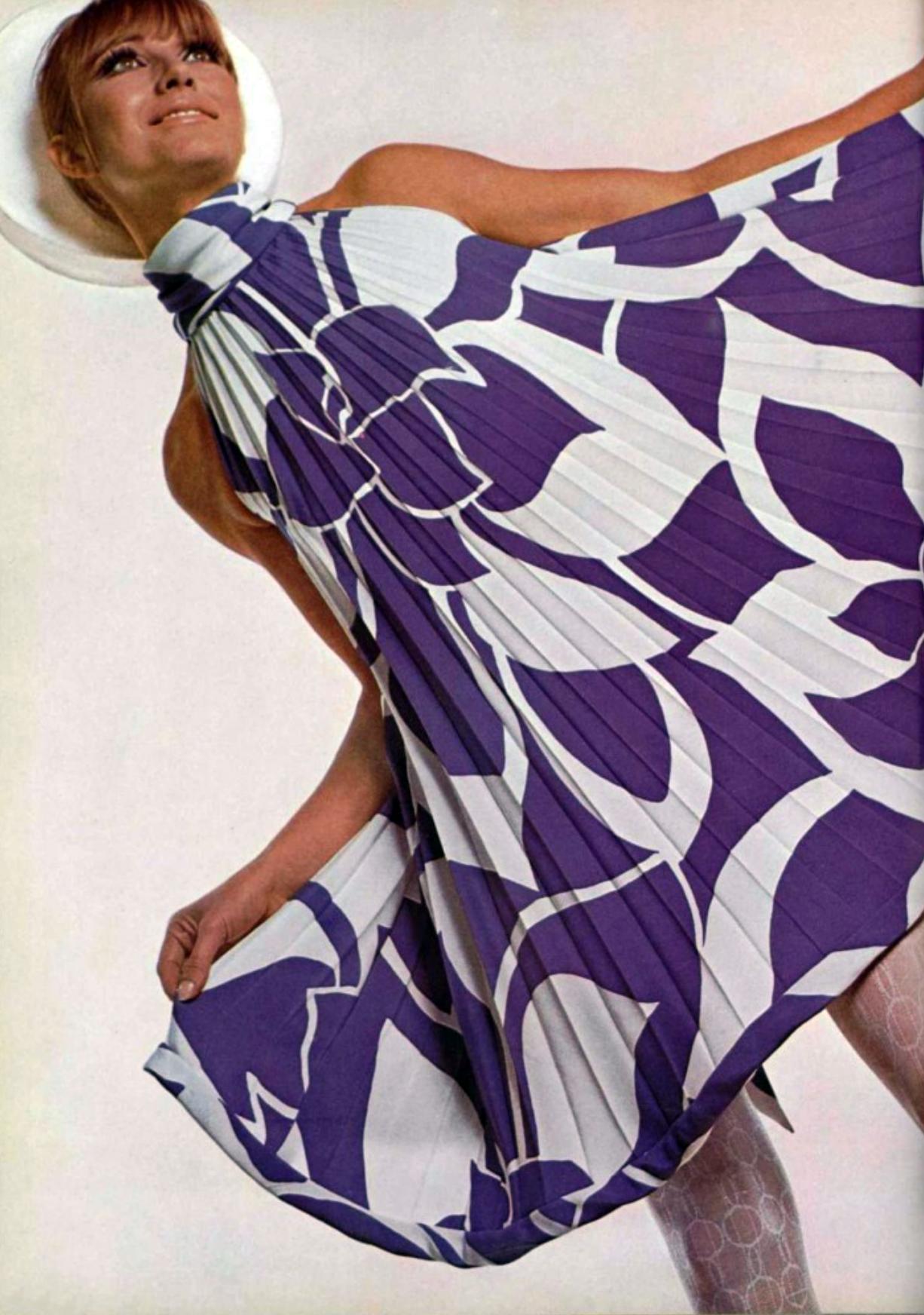 Pierre Cardin L'Officiel magazine 1967