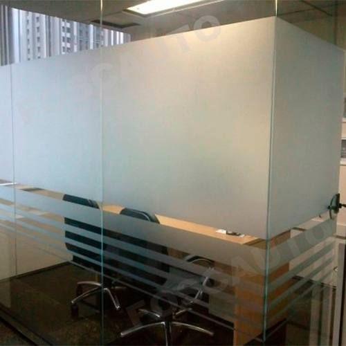 Adesivo Jateado Box Banheiro Janelas Portas Vidros 5m X 1m R