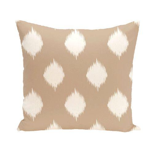 Found it at Wayfair - I-Kat U-Dog Geometric Throw Pillow