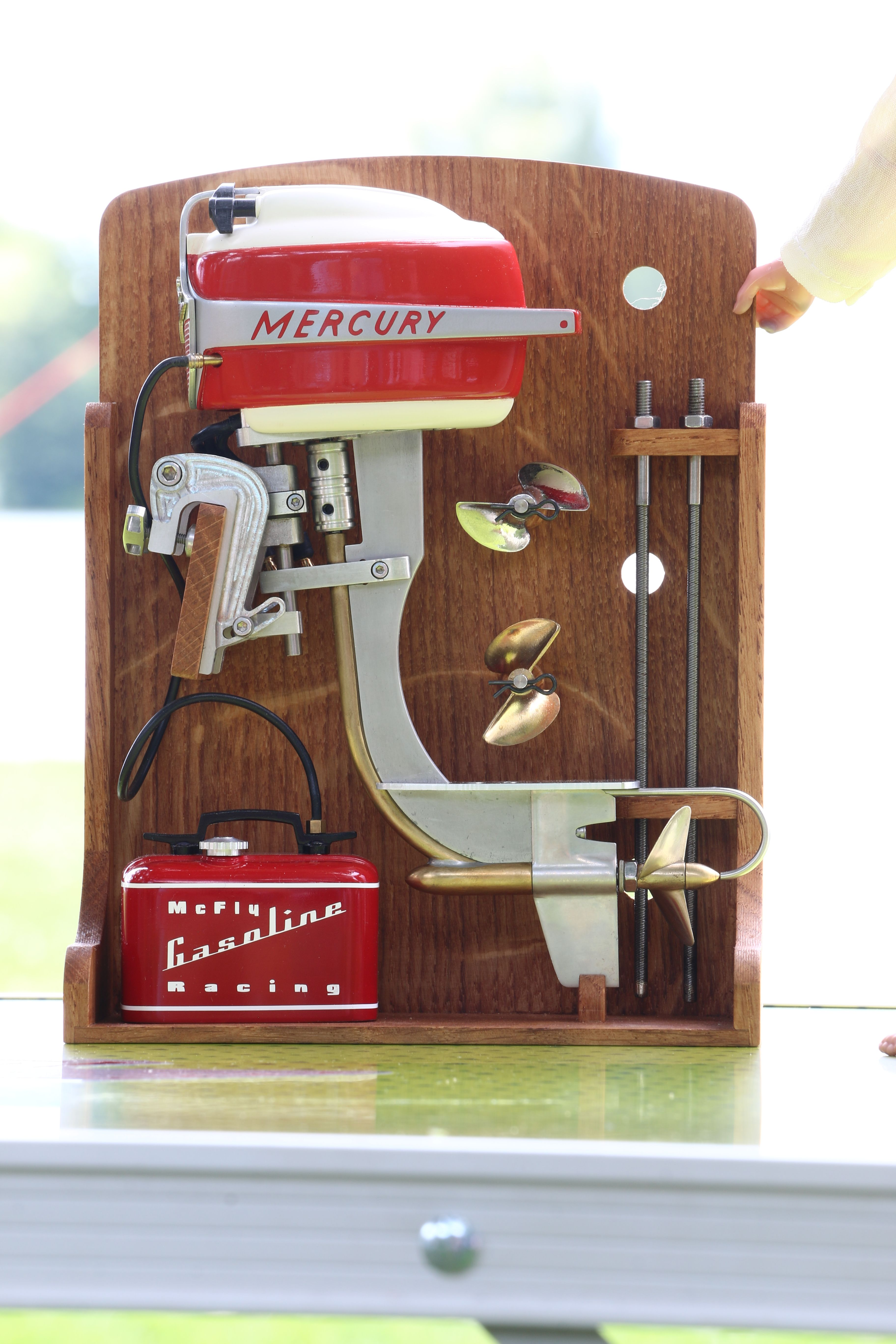 Mercury Mark 25, vintage Outboard Racing, build by Martin