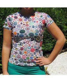 Camiseta Aitana estampación completa. #RegalosPersonalizados #RegalosConFoto #Personalizados #CamisetasPersonalizadas