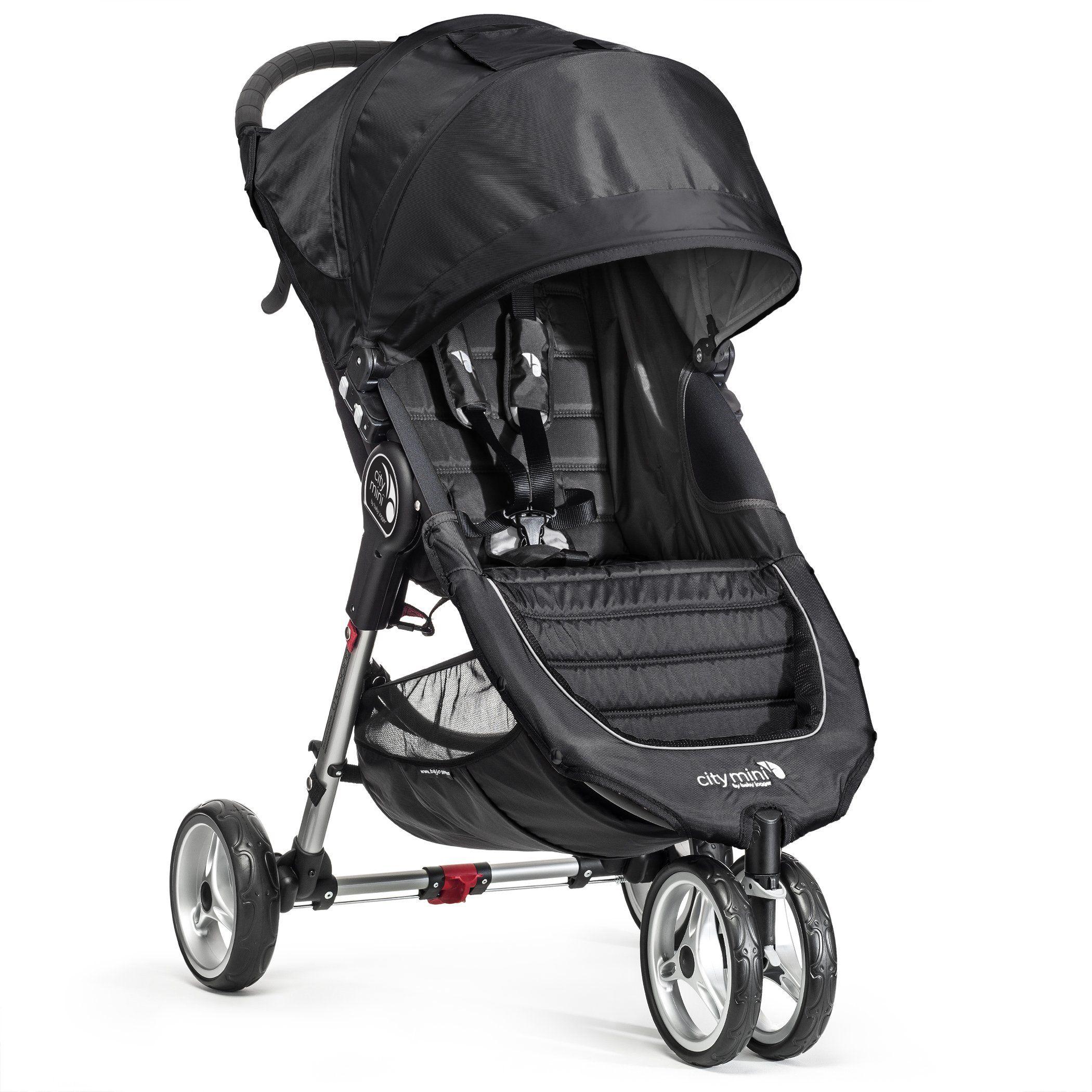Amazon.com : Baby Jogger City Mini Single Stroller, Black ...