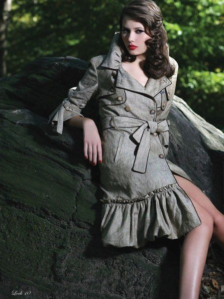 Central Park Look Book Shoot for Tamae Ishii NYC. Photographer- Michael Creagh. Makeup Artist/Hair Jerry Lopez. Model Sally. Assistant Stylist-Stacy Phillips to Designer Tamae Ishii.