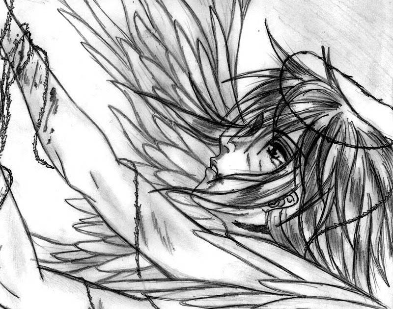 34 Gambar Anime Keren Hitam Putih Romantis Free Gambar