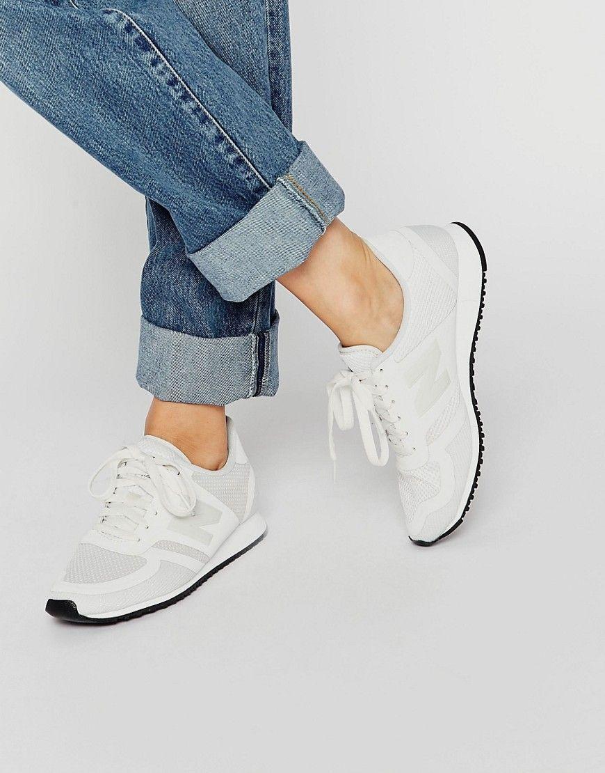 zapatillas new balance 420 mujer blancas