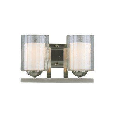 Cosmo 2 Light Bath Vanity Light Finish: Satin Nickel by ...