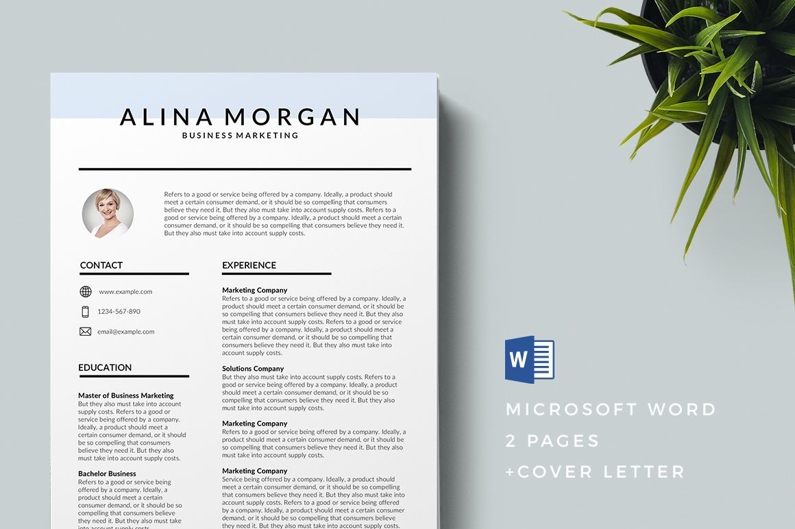 Printable Free Resume Templates 2019 in 2020 Free