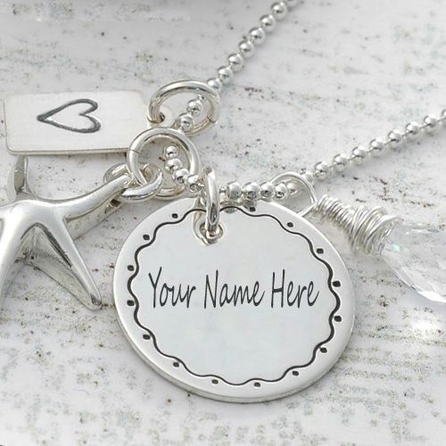 e2578485a9 Write Your Name On Styles Necklaces Pictures free | Silver pendants ...