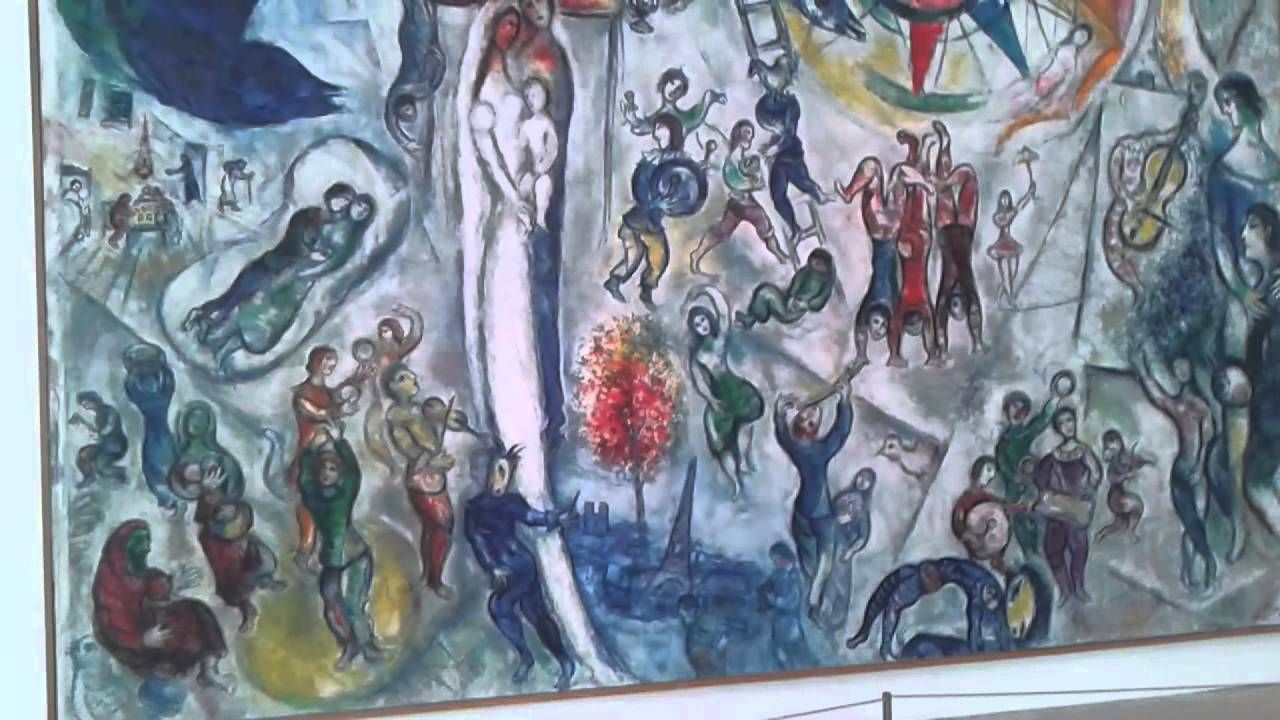 Nice Nizza museum Marc Chagall , The dance and Blue circus 27-08-14