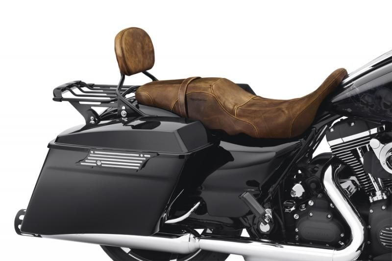 Distressed Brown Leather Badlander Seat | motorcycle