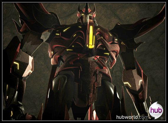 Predaking when he first transformed into bot mode  I was