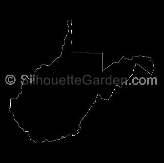 West Virginia Silhouette Silhouette Clip Art West Virginia Silhouette Free