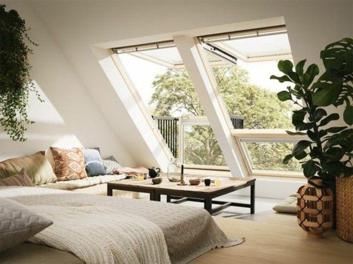 3 la plus belle chambre sous combles chambre mansardee deco idee - Idee Amenagement Chambre Mansardee