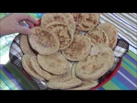 خبز أسمر بالشوفان كانابية حلو الشوفان و الموز حلو وحادق حلقة كاملة Youtube Pita Bread Food Arabic Food