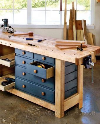 Ultimate Workbench Plans - Workshop Solutions Projects, Tips and ...