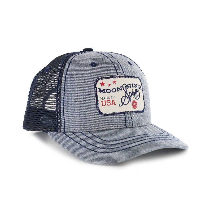 ec13d3b31d2 Moonshine Spirit Union Trucker Ball Cap