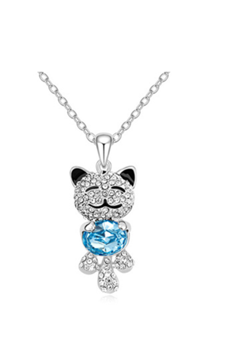 0d2a98ec9 $9.59 Swarovski Crystal Necklace, Silver Pendant Necklace, Pendant Jewelry,  Jewelry Necklaces, Swarovski