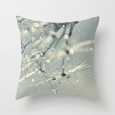 this morning's sparkle Throw Pillow by ingz