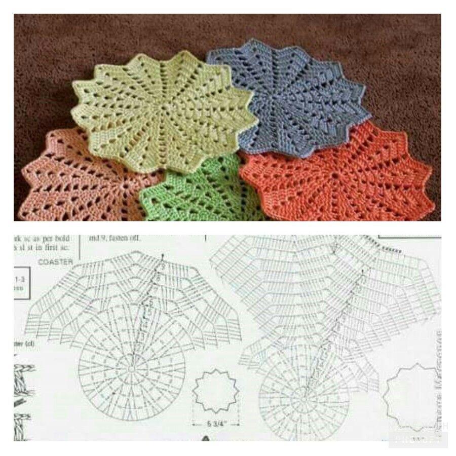 Pin de stefanie boye en crochet pañitos   Pinterest   Croché ...
