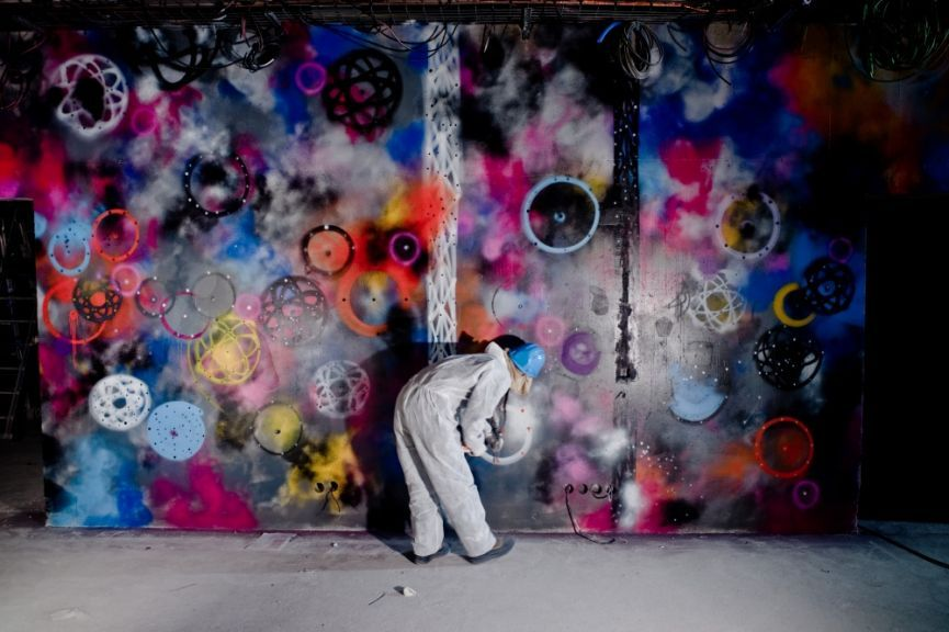 Beijing's CAFA Art Museum presents China's first comprehensive exhibition about the development of international street art.