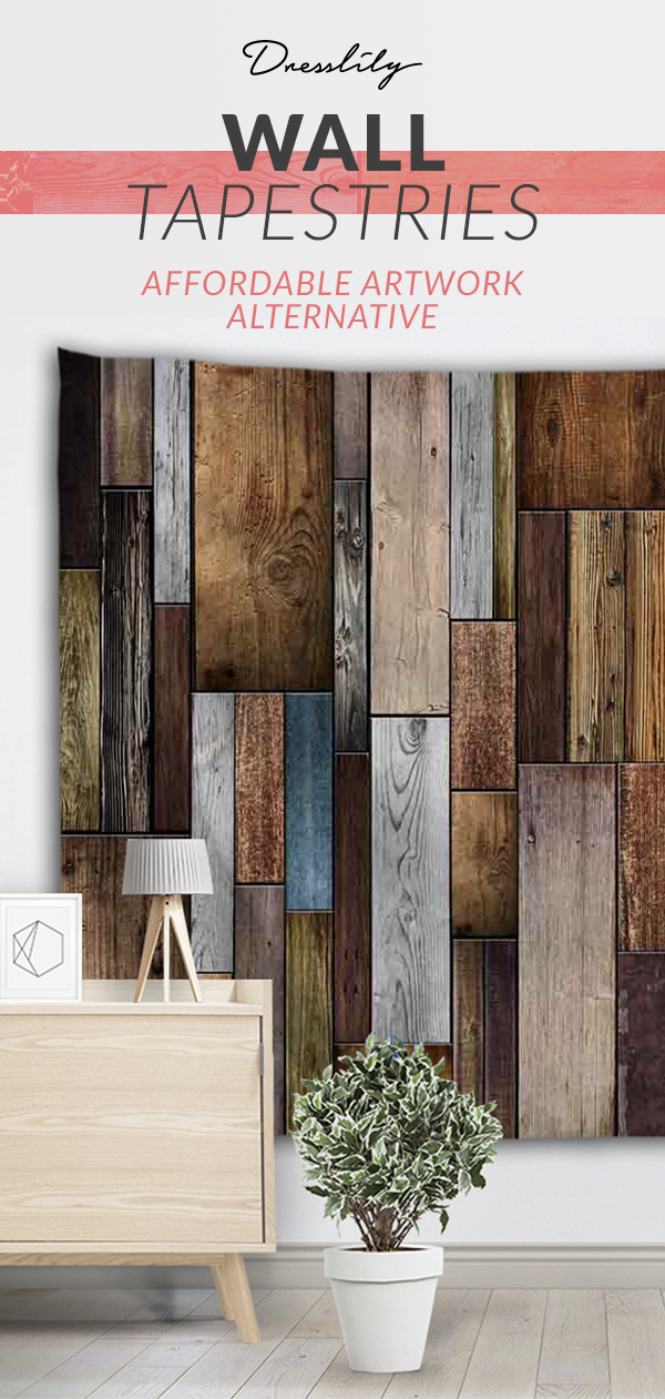 Free Shipping Worldwide Vintage Wood Texture Wall Decoration