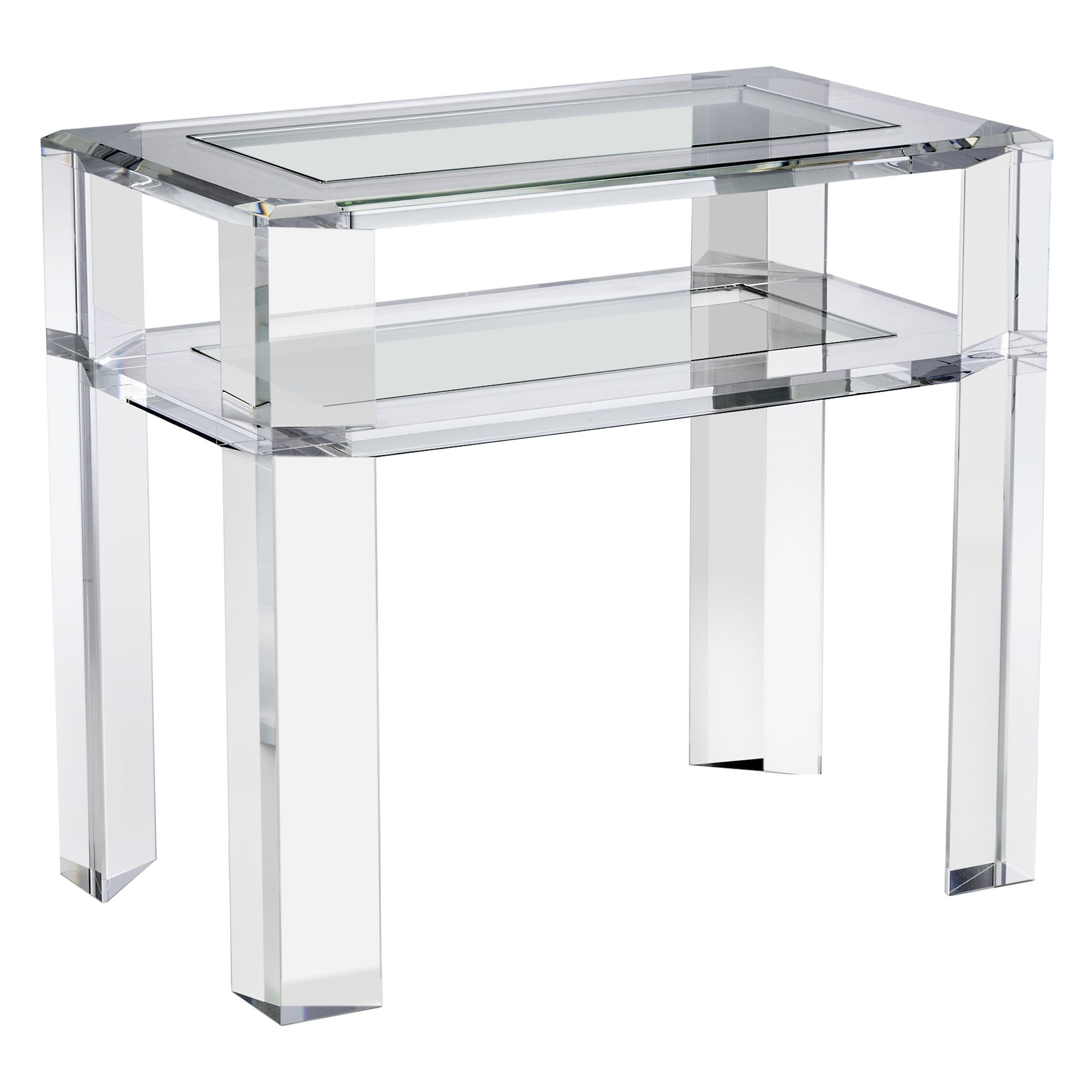Side Table Surrey.Surrey Bedside Table In 2019 Acrylic Side Table Glass