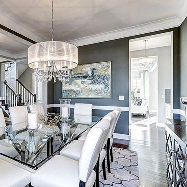 beazerhomes s grizzle gray dining room project home decoration in rh pinterest com