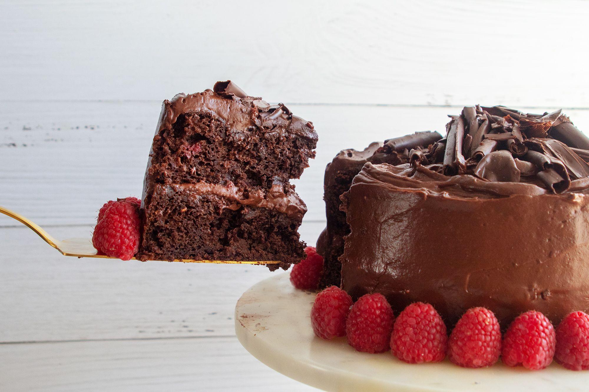 Chocolate raspberry cake giadzy recipe chocolate