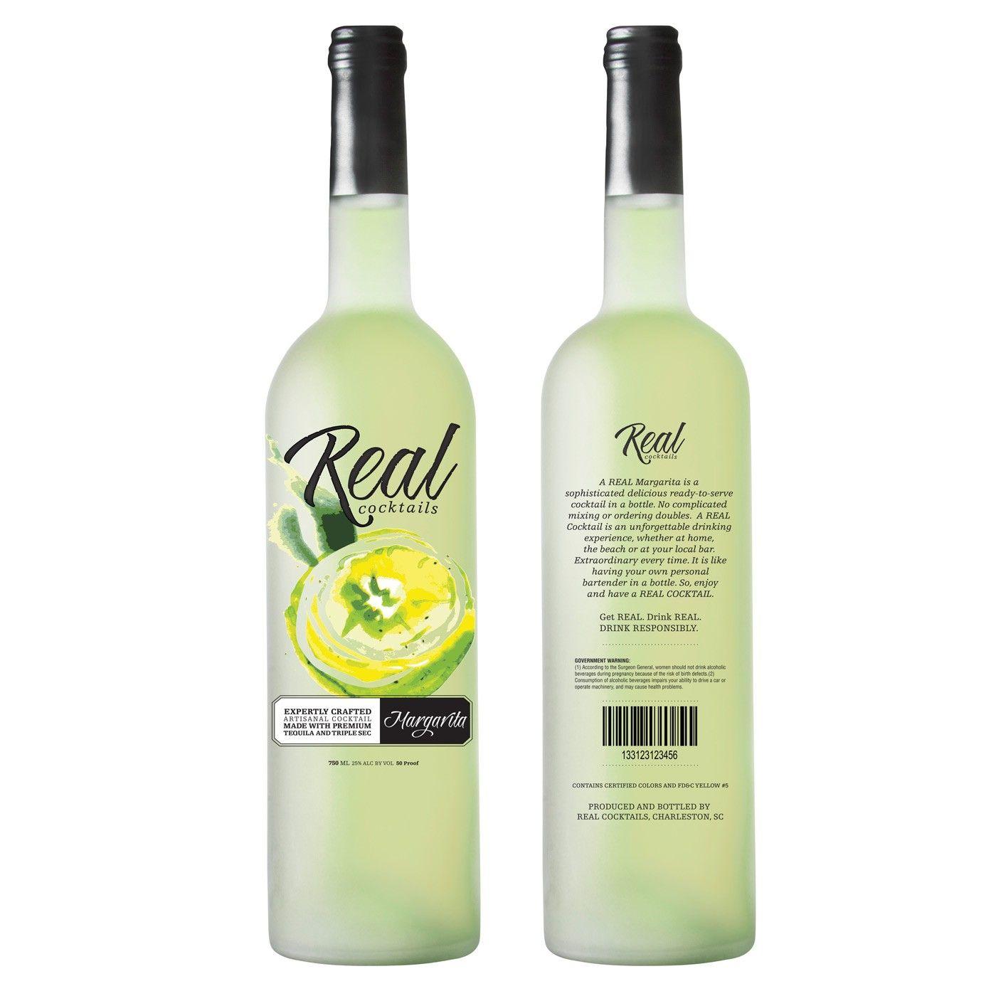 REAL Cocktails Margarita 750ml