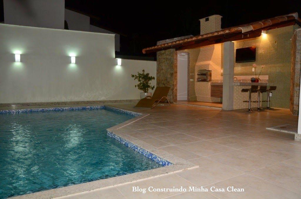Arandelas iluminando e decorando os ambientes for Luminarias para piscinas