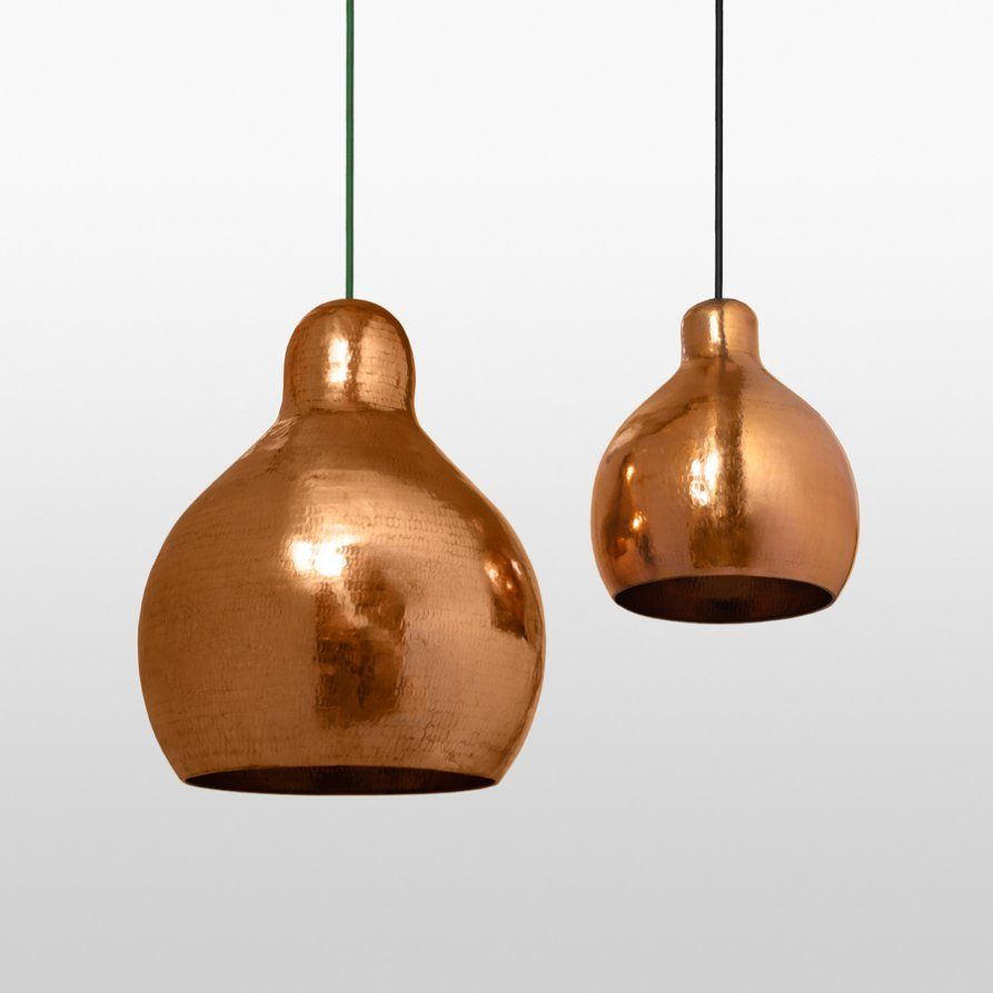 Godfrey Copper Lights Medium With Images Copper Pendant Lights Copper Lighting Pendant Light