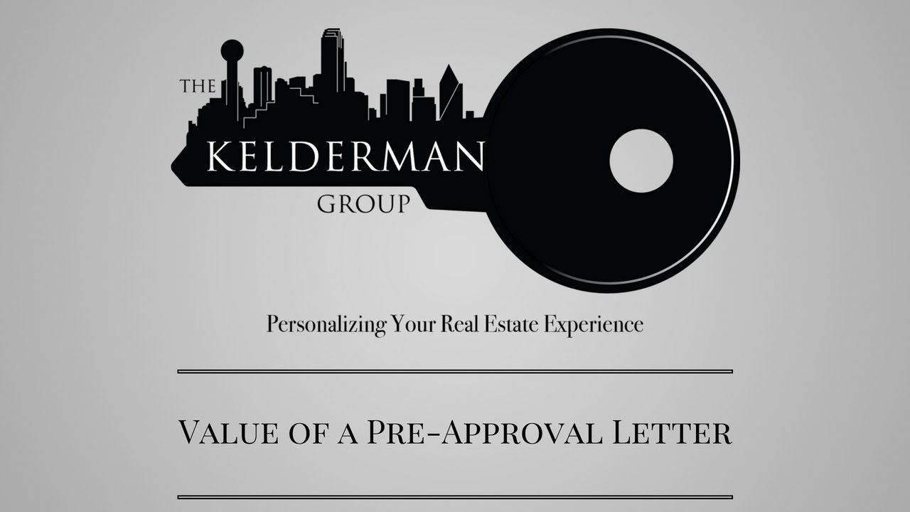Getting A Preapproval Letter Matters  Home Buyer Videos