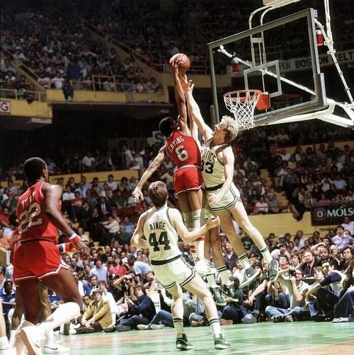 13daec1997a OMG!! Dr.J over Larry Bird   Kevin McHale
