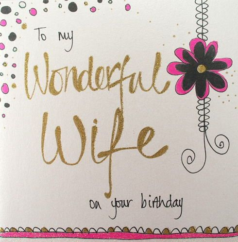 Happy Birthday Cards For Wife Wife Birthday Cards Birthday