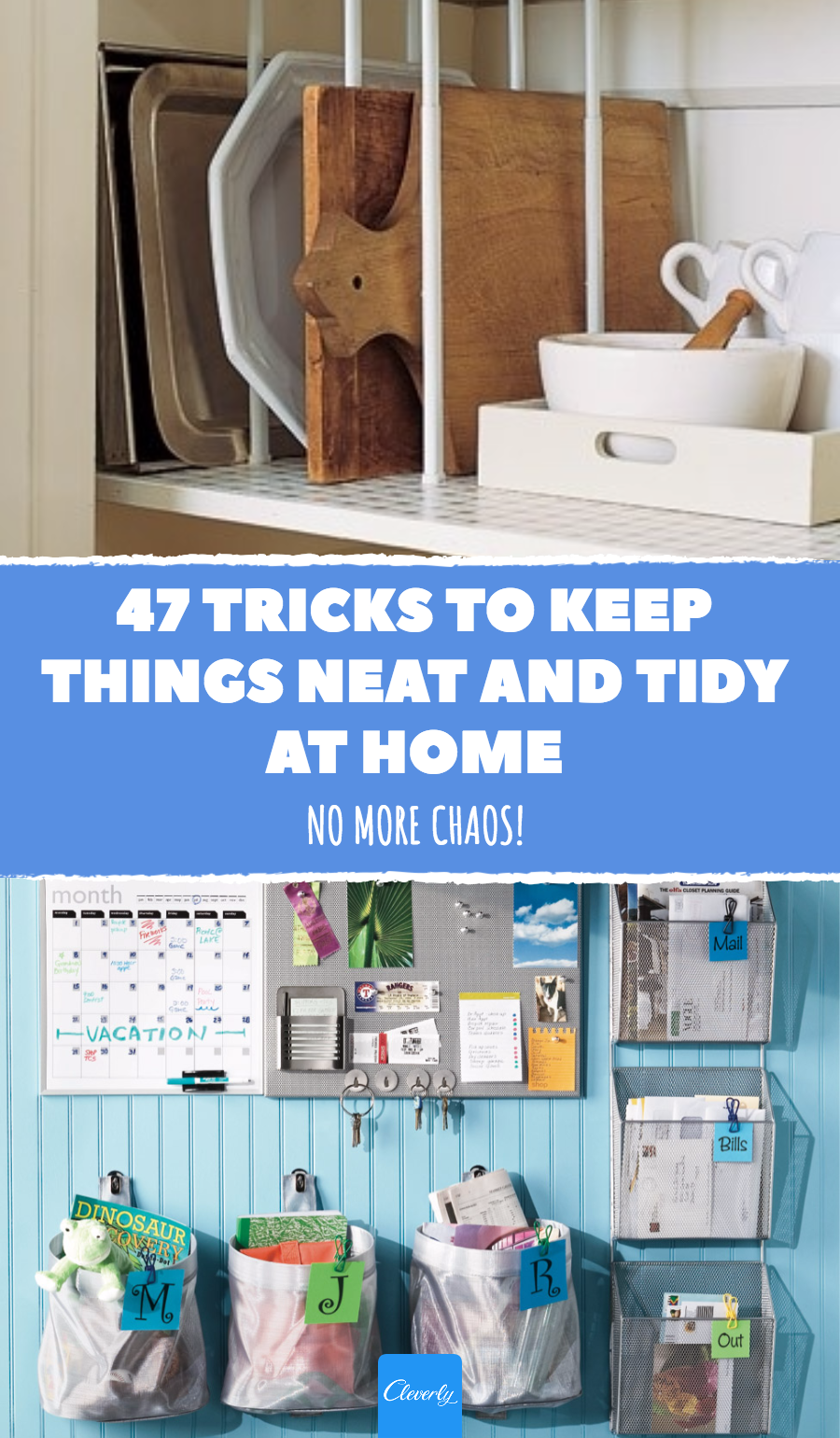 Captivating 47 Tricks To Keep Things Neat And Tidy At Home