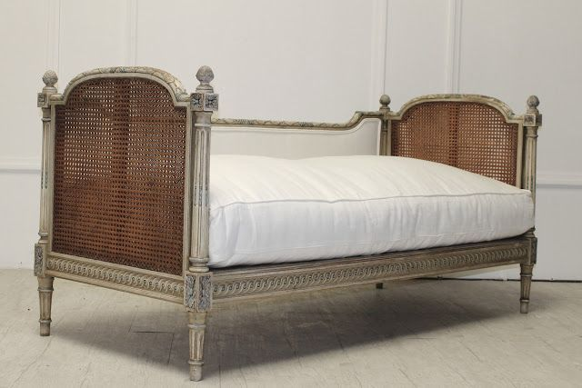 Beds Practical Pair Of 1920s Cane Bergere And Oak Single Beds Goods Of Every Description Are Available