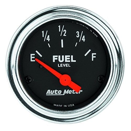 Auto Meter 8449 Factory Match 2-1//16 100-250 Degree Fahrenheit Transmission Temperature Gauge for Ford Racing