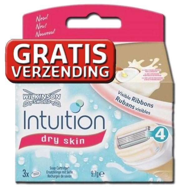 fashion coupon code utterly stylish Wilkinson Sword Intuition Dry Skin 3 scheermesjes ...