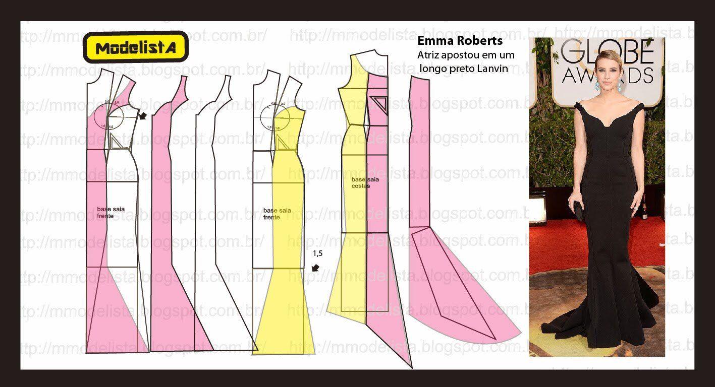 Pin de Gamze Boğa en Elbise kalıpları | Pinterest | Patrones ...