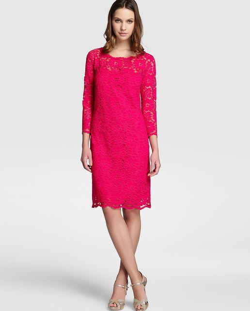 Vestidos de fiesta rosa el corte ingles