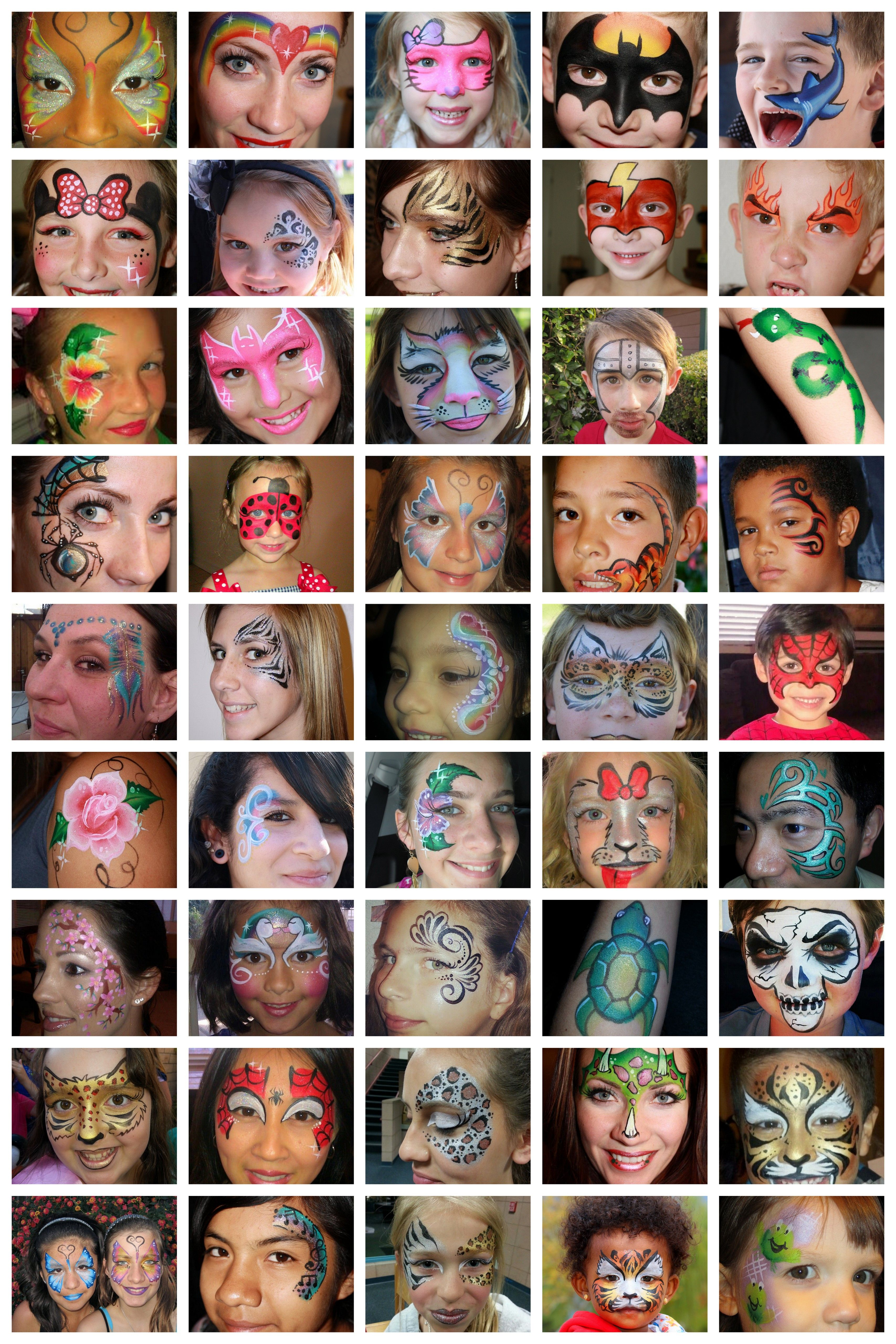 Pin By Bay Area Party Entertainment On Face And Body Painting Face Painting Face Painting Designs Face Painting Halloween