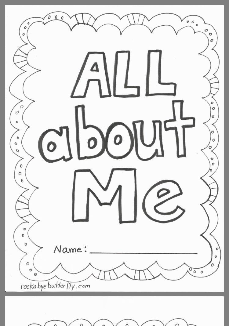 Pin By Ashley Trowbridge On Homeschool All About Me Book All About Me Printable All About Me Preschool