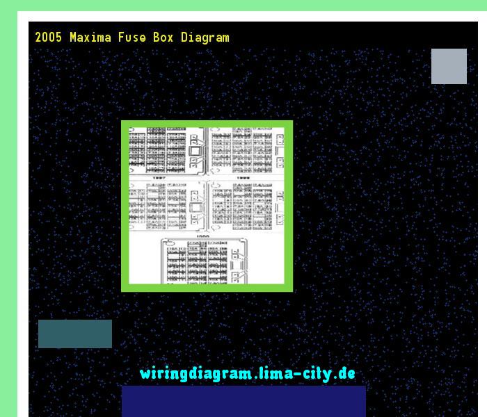 2005 maxima fuse box diagram. Wiring Diagram 174721