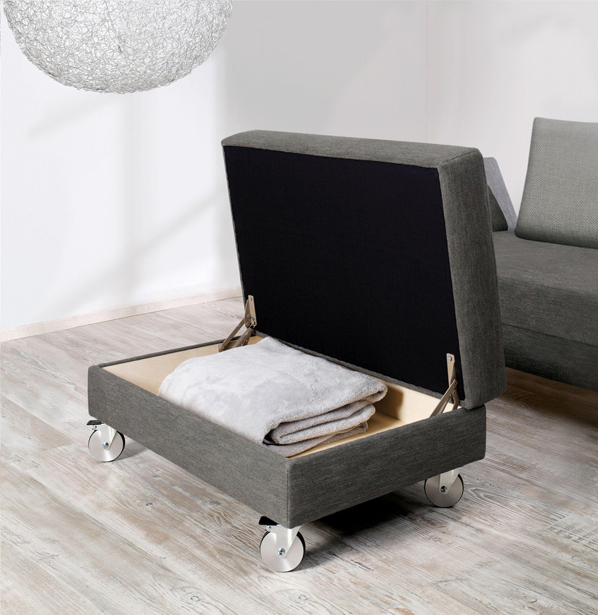 der praktische polsterhocker erg nzt die serie lucido perfekt das highlight dieses. Black Bedroom Furniture Sets. Home Design Ideas
