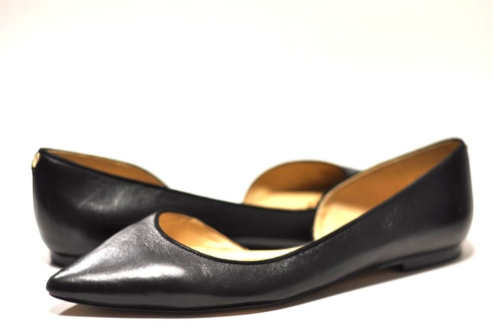 31d58d28c894 Sam Edelman Women s Size 10 Reema Pointed Toe Flat Black Shoes  SamEdelman   Flats