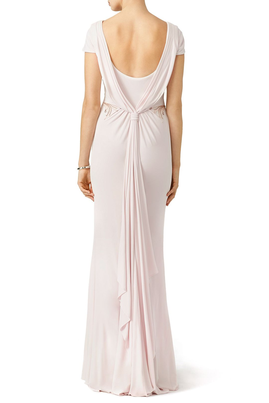 Blush Belle Gown by Badgley Mischka for $174   Rent the Runway