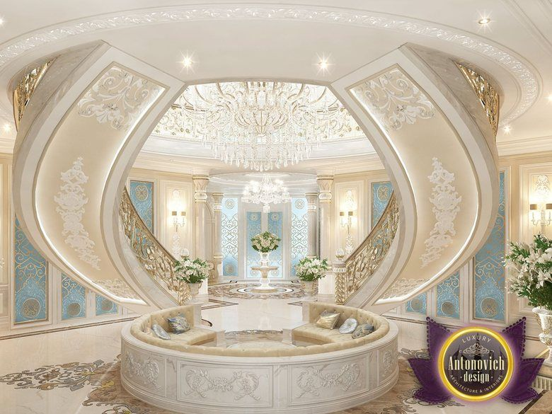 Best interiors of luxury antonovich design dubai katrina for Luxury house in dubai