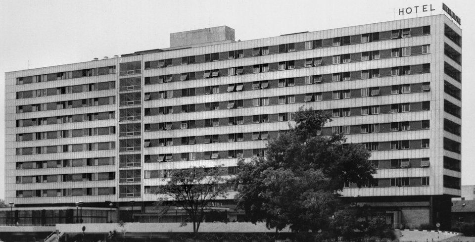 Tusek Bozidar Architecture Hotel Building
