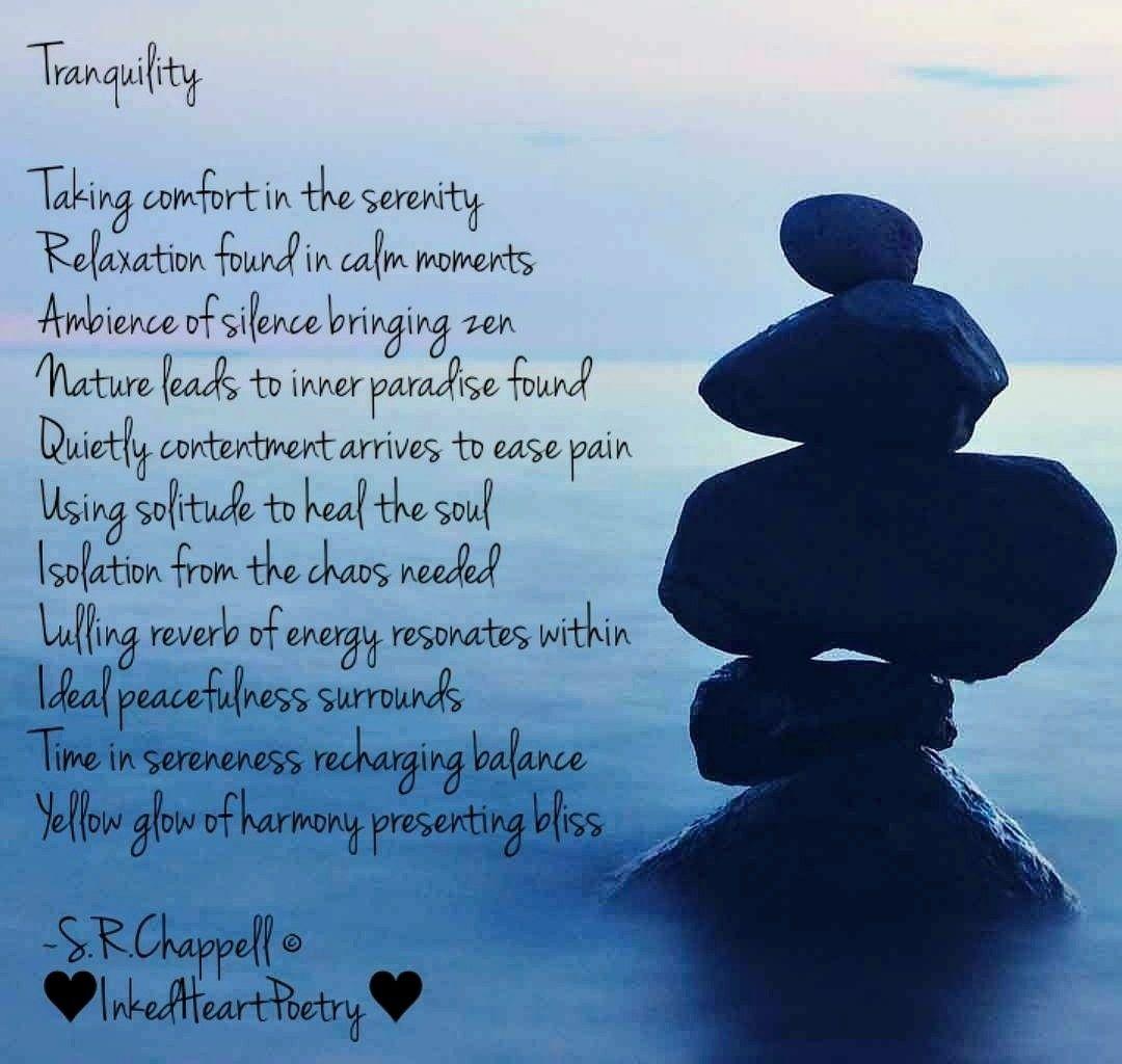 Acrosticpoem Serenity Peacefulmoment Poem Poetry Tranquil