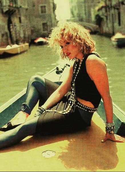 a Madonna clip like virgin video